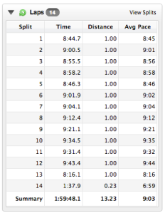 Pittsburgh Half Splits