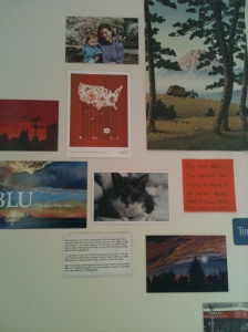 My wall of inspiration!